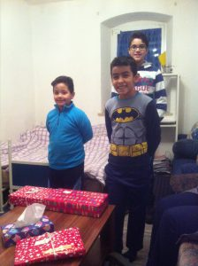 Foto - Weihnachtsgeschenke für Flüchtlingskinder